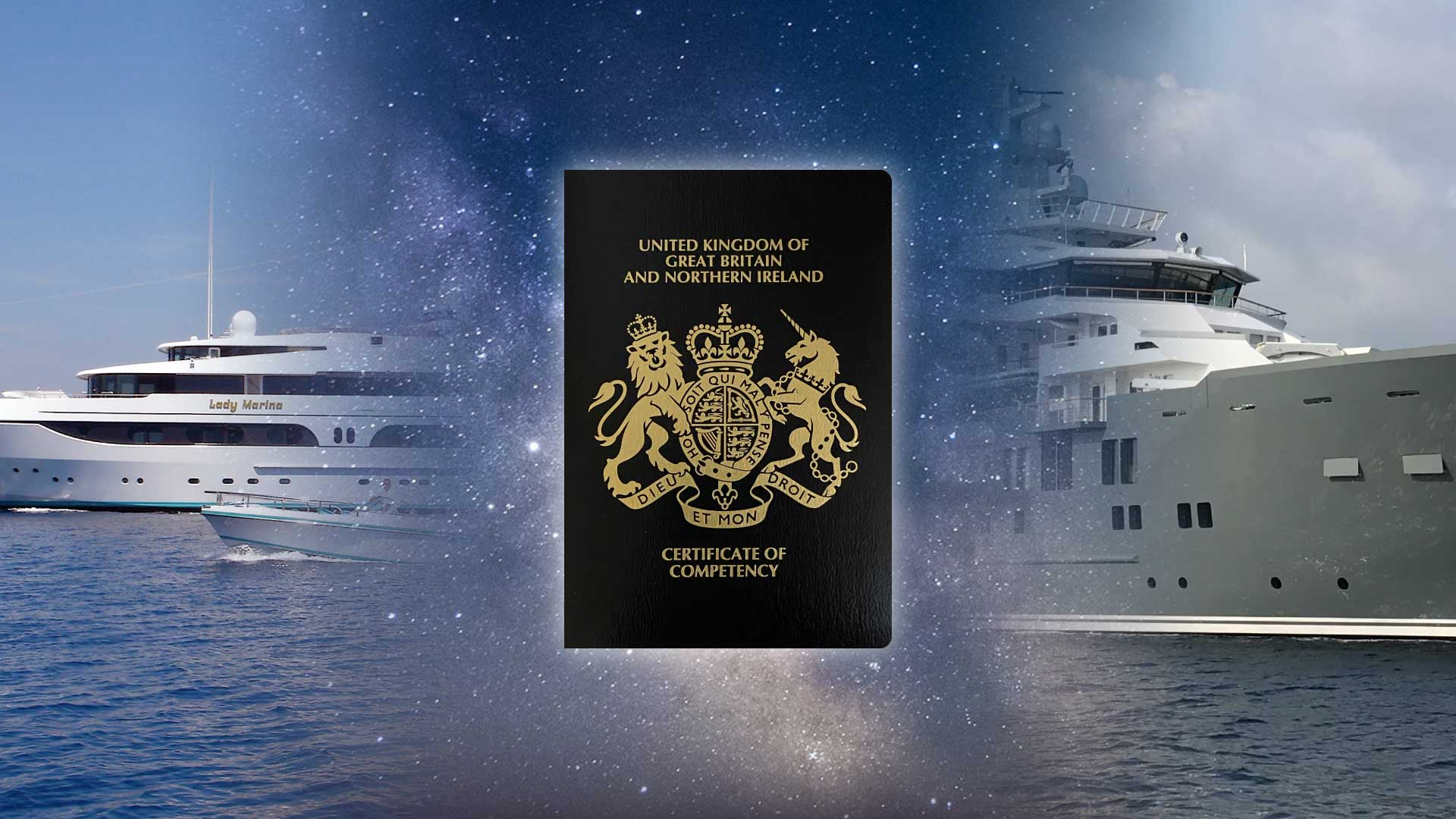 oc title superyachts with certificate of competency