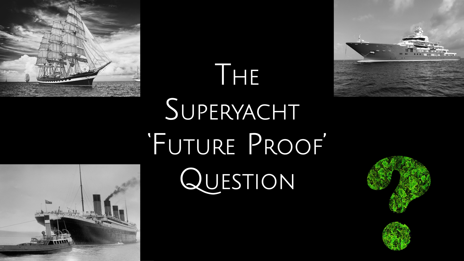 sail coal diesel ships what's next for superyachts